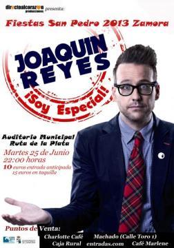 Podremos alegrarnos con el humor de Joaquín Reyes en las fiestas de San Pedro