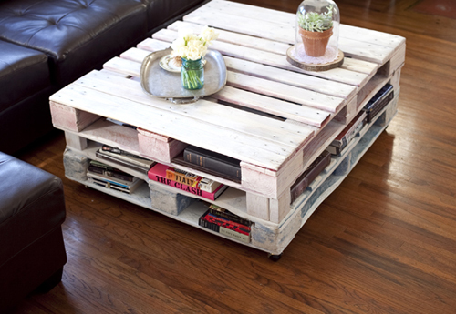 Muebles economicos con palets  vivirenzamora