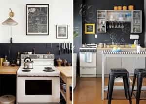 Renovar la cocina con azulejos pintados