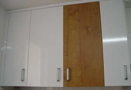 Parte ii renovar los muebles de la cocina vivirenzamora - Papel autoadhesivo para muebles ...