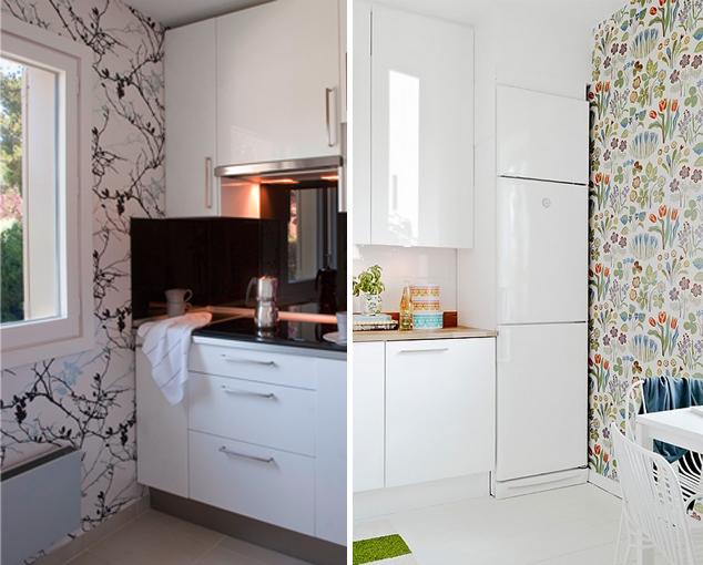 Cocina nueva sin obras parte i renovar azulejos for Paredes con azulejo