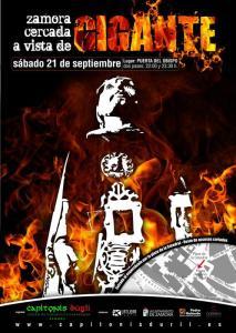 Rememora la historia de Zamora con los gigantes de Capitonis Durii