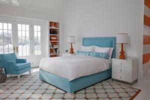 dormitorio con esquinero