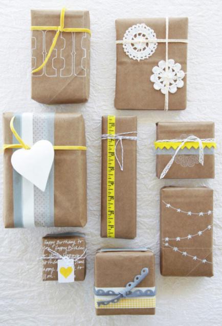 Ideas para envolver regalos vivirenzamora - Regalos envueltos originales ...