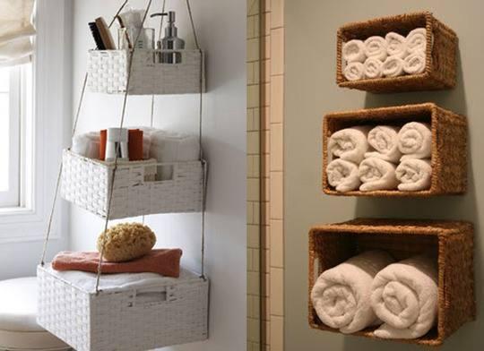 Ideas para organizar la casa i vivirenzamora - Muebles de mimbre para bano ...