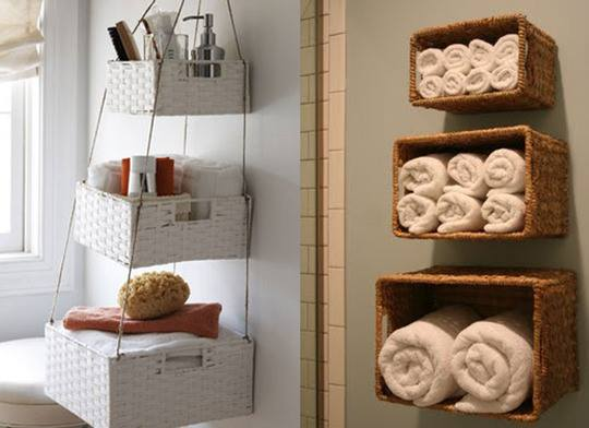 Ideas para organizar la casa i vivirenzamora - Cestas decorativas ...